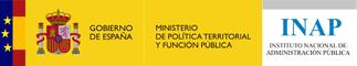 Logo Ministerio de Política Territorial y Función Pública - INAP