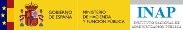 Logo Ministerio Hacienda - INAP